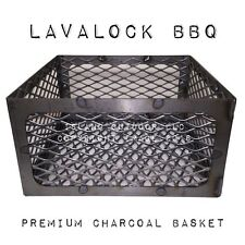 LavaLock® Old Country Pecos BBQ pit 15 15 8 Charcoal basket coal smoker LSR