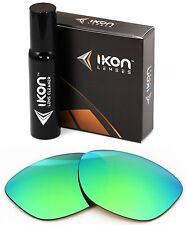 Polarized IKON Replacement Lenses For Ray Ban RB2140 Wayfarer (54MM) Green