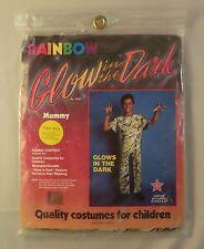 Glow in the Dark Mummy Child Halloween Costume 3 - 4 Years