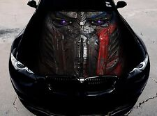Vinyl Car Hood Full Color Graphics Decal Transformers Optimus Prime Sticker