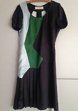 Marni dress 38 uk 8 - 10 Black and green satin. Sold in The Outnet