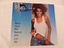 """Whitney Houston """"I Wanna Dance With Somebody"""" PICTURE SLEEVE! ONLY NEW COPY eBAY"""