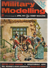 MILITARY MODELLING Magazine April 1973 (Great Britain)