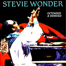 "Stevie Wonder  ""Extended & Remixed""  2-cd  (22 Terrific Mixes!)  Motown"