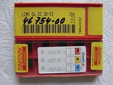 NEU 10 SANDVIK LCMX040308-53 3040 mit Rechnung Wendeplatten