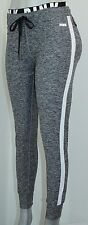 VICTORIA'S SECRET Pink GYM Ultimate Yoga Pants Sz Large NWT Marled Gray & White