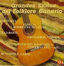 GRANDES EXITOS DEL FOLKLORE CANARIO-MESTISAY + TAJARASTE + FAMILIA RODRIGUEZ DE