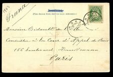 Norway 1903 u/b PPC Nordkap + Nordkap postmark to France