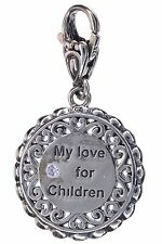 Angela By John Hardy Sterling Silver love for my children Charm