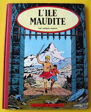 ALIX JACQUES MARTIN L ILE MAUDITE EO 1957 LOMBARD BON ETAT