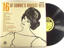 connie fancis lp  16 of connie's biggest hits uk import mgmc 970  vg+/vg+