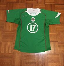 Mexico National Soccer Team Francisco Fonseca #17 FIFA Adult S Nike Jersey