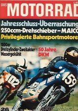 M7126 + Fahrbericht MAICO MD 250 + SCOTT-Motorräder + Das MOTORRAD 26/1971