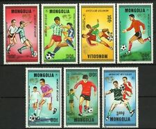 MONGOLIE MONGOLIA SPORT COUPE FOOTBALL MEXICO SOCCER WORLD CUP FUßBALL ** 1986