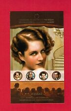 2008 CANADIANS IN HOLLYWOOD  CANADA STAMPS  BOOKLET  2280ii  BK383  L950