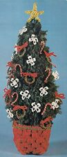 BOOK ONLY # HA-71 Macrame for Christmas - Holiday Decorative Pine Tree Pattern