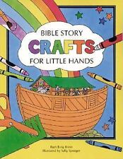 Bible Story Crafts: For Little Hands-ExLibrary