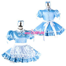 Special offer-lockable Sissy maid dress Uniform cosplay costume [G2219]