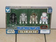 Disney Parks Star Wars Rogue One Astromech Droids Factory Figure Set NEW