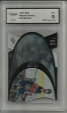 RARE 1997 SPX WAYNE GRETZKY SAMPLE CARD GMA GRADED 9