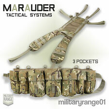 Marauder Special Forces Airborne Webbing Set - Yoke + 3 Pocket Belt -British MTP