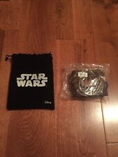 Star Wars Force Awakens Rey Leather Cuff Bracelet Brand New Rare Limited