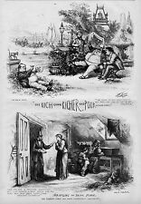 TAMMANY LORDS AND THEIR CONSTITUENTS BOSS TWEED RICH GET RICHER POOR GET POORER
