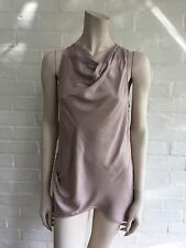 Amazing Helmut Lang draped sleeveless top Size S Small