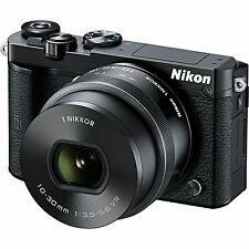 Nikon 1 J5 Mirrorless Digital Camera with 10-30mm Lens ( Black)