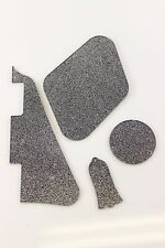 Silver Glitter Gibson Les Paul Pickguard, cavity covers, and Truss rod cover set