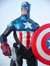 """Marvel Select~ Bucky as CAPTAIN AMERICA~    7"""" inch~  Complete~~"""