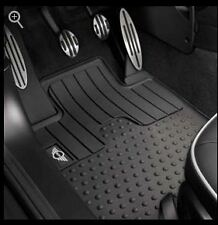Mini Cooper Countryman Rubber Floor Mats Floormats 2012-2015 Set of 2 Front OEM