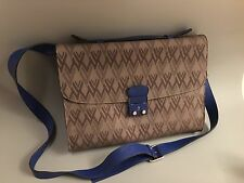 NEW Authentic Valentino Garavani V Logo Printed Calfskin Leather Handbag Tote