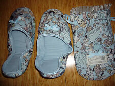NEW CINDERELLA TRAVEL FOLDING SLIPPER FROM JAPAN, COMES WITH STORAGE BAG
