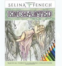 Coloring Book For Adults Designs Art Magical Forest Fantasy Stress Relief Color