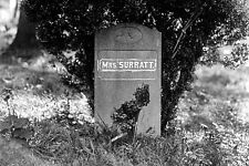 New 5x7 Photo: Grave of Abraham Lincoln Assassination Conspirator Mary Surratt