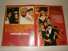 JAMES BOND 007 OCTOPUSSY clipping articolo fotografia 1983 AT2