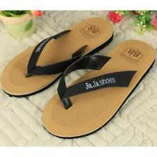Man Flip-flops Slippers Men Beach Sandals Summer Indoor Outdoor Home Slippers S1