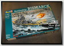Revell Model #05040 1/350 German Battleship Bismarck