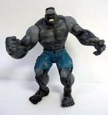 """MARVEL SELECT ULTIMATE HULK Grey Black Variant 9"""" Action Figure COMPLETE 2003"""