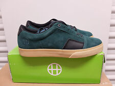 Huf Southern Skate Sneakers Pine Green Black Suede Gum Sole 10.5 New