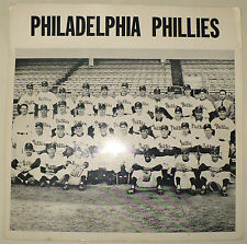 ANTIQUE 1957 ORIGINAL PHILADELPHIA PHILLIES BASEBALL TEAM PHOTO