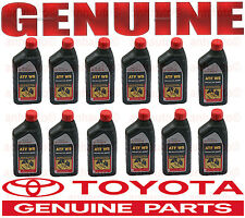12 Genuine World Standard WS ATF Automatic Transmission Oil Fluid for Toyota