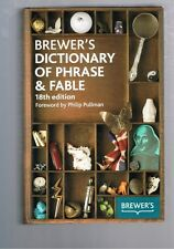 Brewer's Dictionary of Phrase & Fable 18th Edition  Camilla Rockwood (Hardback)