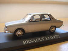 EXTREMELY RARE RENAULT 12 1970 PORTUGUESE NUMBER PLATE ALTAYA/IXO 1/43