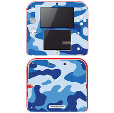 Vinyl Skin Decal Cover for Nintendo 2DS - Blue Camouflage