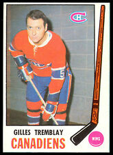 1969 70 OPC O PEE CHEE HOCKEY #168 GILLES TREMBLAY NM MONTREAL CANADIENS card