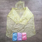 EMERGENCY DISPOSABLE PONCHO WATERPROOF COAT CAPE RAIN MAC RAINCOAT FESTIVAL