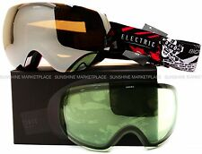 NEW 2015 Electric EG3 Goggles-Volcom X V2-Silver Chrome+Bonus-SAME DAY SHIPPING!