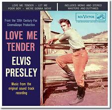 """Elvis : Love Me Tender 2 CD : FTD Special Edition / Classic Album 7"""" Presentatio"""